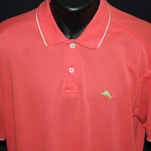 Tommy Bahama Marlin Luxury Fabric Blend Polo XL